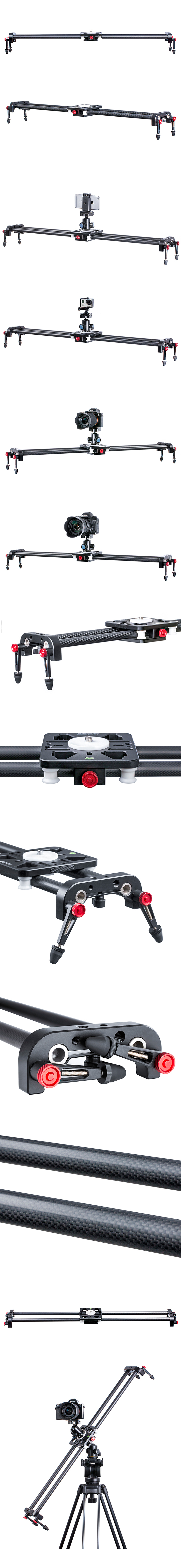 Light-weight Carbon Fiber Slider SK-CFS80